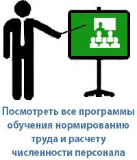 Учебный курс по нормированию труда