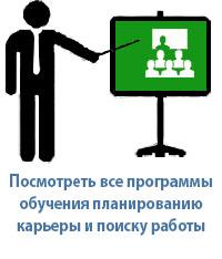 Поиск работы: анализ возможностей, планирование карьеры, трудоустройство
